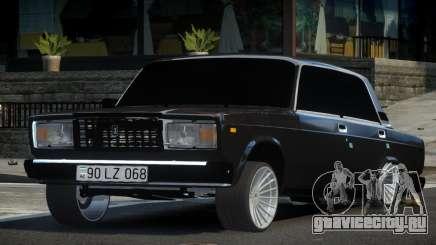 VAZ 2107 GS L-Tuning для GTA 4