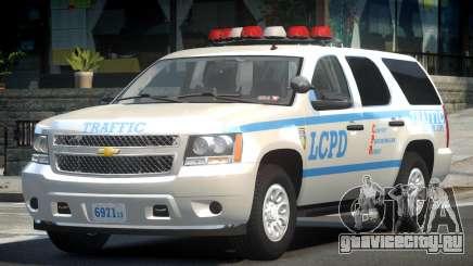 Chevrolet Tahoe GMT900 2007 LCPD для GTA 4