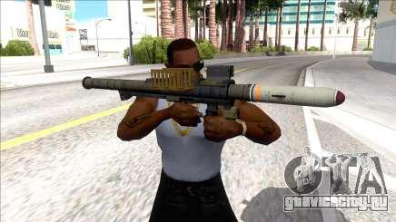 Hawk & Little Homing Launcher Black для GTA San Andreas