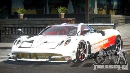 Pagani Huayra SP Drift L5 для GTA 4