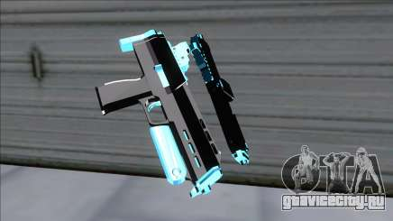 Weapons Pack Blue Evolution (microuzi) для GTA San Andreas