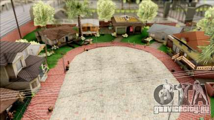 Modern Grove Street для GTA San Andreas