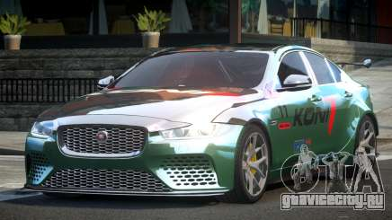 2018 Jaguar XE L5 для GTA 4