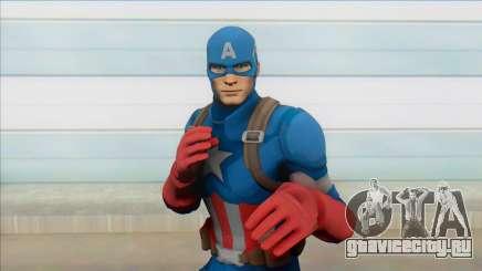 Captain America From Fortnite для GTA San Andreas