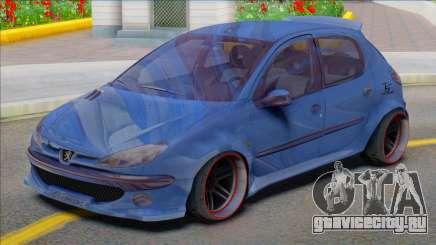 Peugeot 206 Sport Soltan для GTA San Andreas