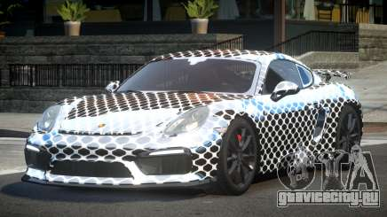 Porsche Cayman GT4 L6 для GTA 4