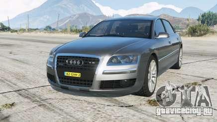 Audi A8 L W12 quattro (D3) Onopvallend Politie для GTA 5