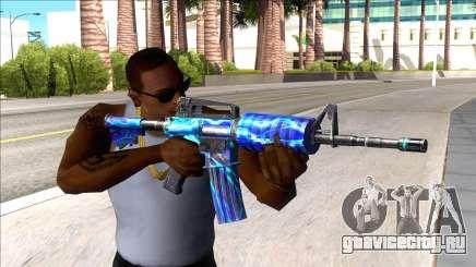 M4A1 Assault Rifle Skin 1 для GTA San Andreas