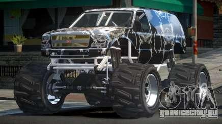 Vapid Liberator Custom L7 для GTA 4
