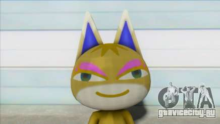 Animal Crossing Nude Cat Skin V17 для GTA San Andreas