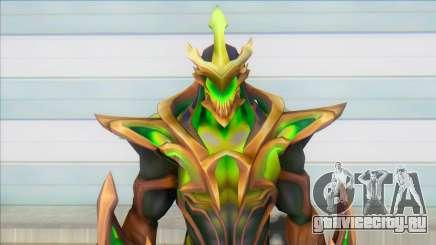 Galaxy Slayer Zed Emerald для GTA San Andreas