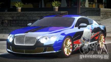 Bentley Continental GT Drift L1 для GTA 4