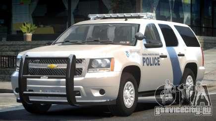 Chevrolet Tahoe GMT900 2007 Homeland Security для GTA 4