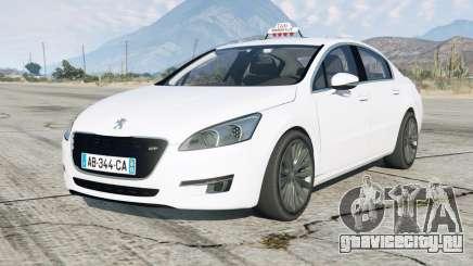 Peugeot 508 GT Taxi Marseille для GTA 5