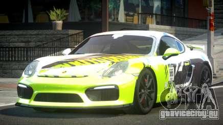 Porsche Cayman GT4 L5 для GTA 4