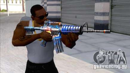 M4A1 Assault Rifle Skin 5 для GTA San Andreas