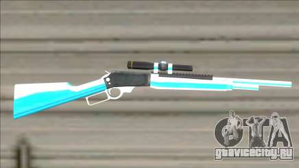 Weapons Pack Blue Evolution (cuntgun) для GTA San Andreas