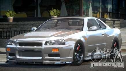 Nissan Skyline R34 BS Drift для GTA 4