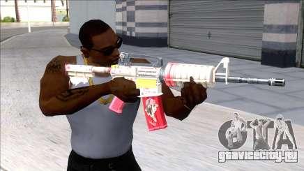 M4A1 Assault Rifle Skin 4 для GTA San Andreas
