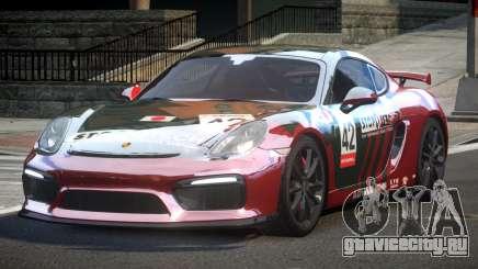 Porsche Cayman GT4 L8 для GTA 4