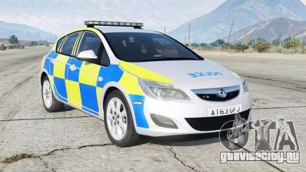 Vauxhall Astra British Police для GTA 5