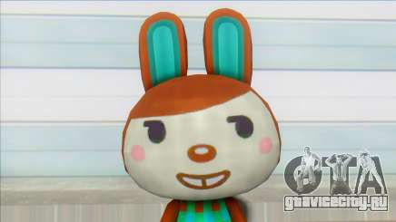 Animal Crossing New Leaf Carmen Skin Mod для GTA San Andreas