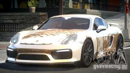 Porsche Cayman GT4 L3 для GTA 4