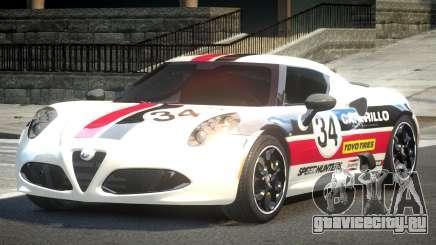 Alfa Romeo 4C R-Tuned L1 для GTA 4