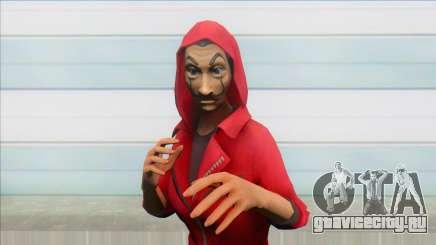 Money Heist X Free Fire Female для GTA San Andreas