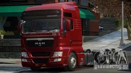MAN TGX для GTA 4