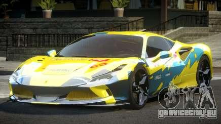 Ferrari F8 Tributo BS L10 для GTA 4