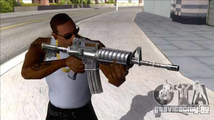 M4A1 Assault Rifle Default для GTA San Andreas