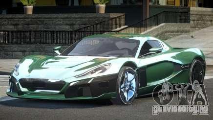 Rimac CTwo GT для GTA 4