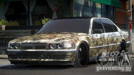 1999 BMW 760Li E38 Drift PJ3 для GTA 4