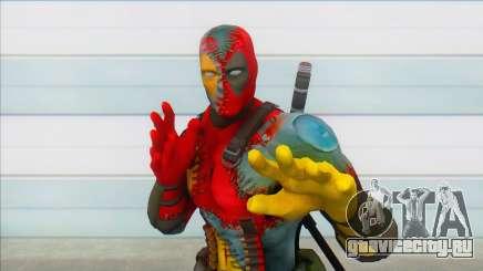 Evil Deadpool Marvel для GTA San Andreas