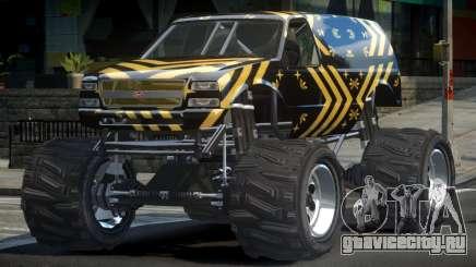 Vapid Liberator Custom L6 для GTA 4