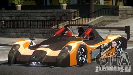 Radical SR3 Racing PJ10 для GTA 4