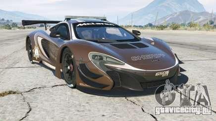 McLaren 650S GT3 Pursuit Edition для GTA 5