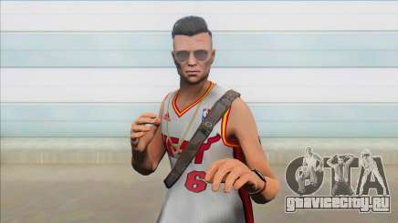 GTA Online Skin Ramdon N19 Male Miami V2 для GTA San Andreas