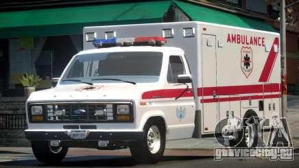 Ford E150 Ambulance для GTA 4