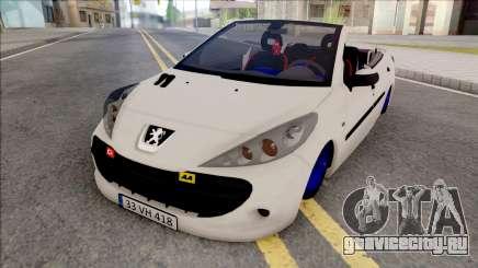 Peugeot 207 Crook для GTA San Andreas