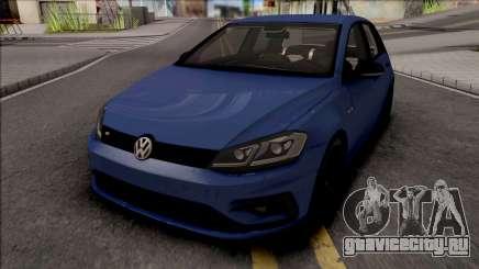 Volkswagen Golf 7 Blue для GTA San Andreas