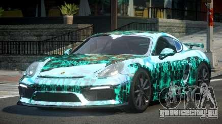 Porsche Cayman GT4 L4 для GTA 4