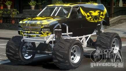 Vapid Liberator Custom L4 для GTA 4