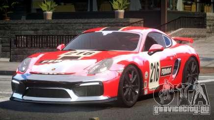 Porsche Cayman GT4 L1 для GTA 4