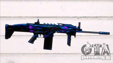 Scar-H Purple Dragon для GTA San Andreas