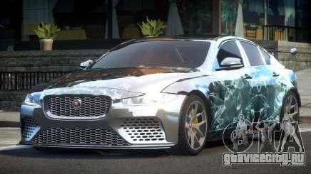 2018 Jaguar XE L6 для GTA 4