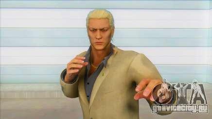 Yakzua (Ryuji no coat) для GTA San Andreas