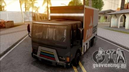 Boxburg Con Logos для GTA San Andreas