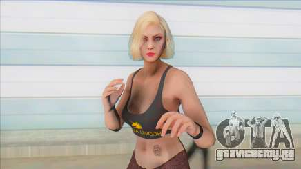 GTA Online Skin Ramdon Female Rubia Stripper для GTA San Andreas